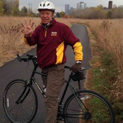 Dave T. biked 4000 miles in 2015 and raised money for Give Us Wings.