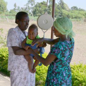 Health clinic SJKHCII baby-scale