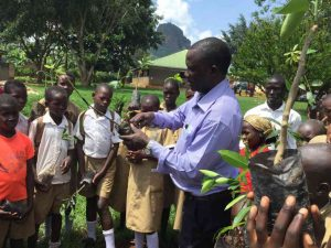 Fruit tree planting may 2016 sponsored students