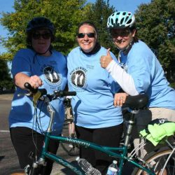 ride 2015 Julie janet amy at top