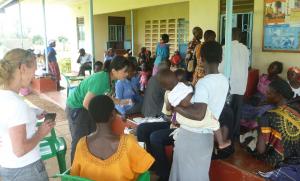 Volunteers - St. Johns Kayoro Clinic March 2016