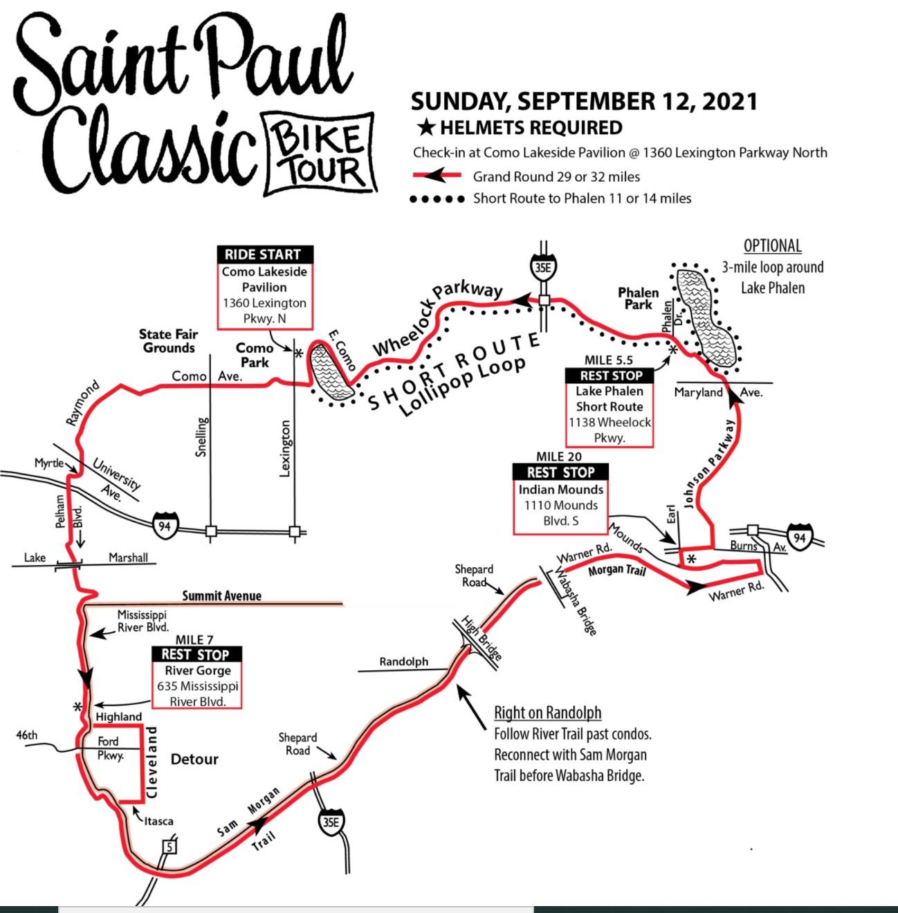 bike classic 2021 route map